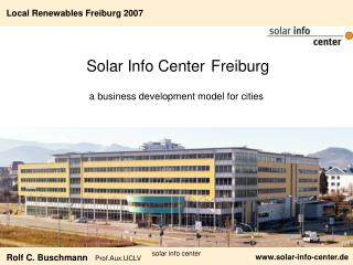 Solar Info Center Freiburg