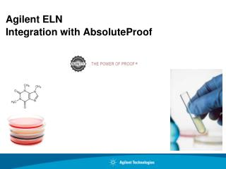 Agilent ELN Integration with AbsoluteProof