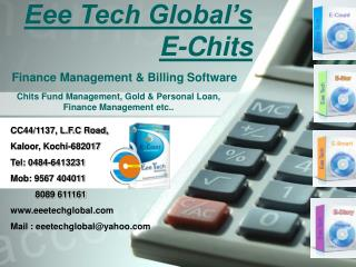 Eee Tech Global's E-Chits