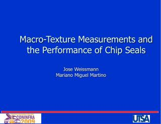 Macro-Texture Measurements and the Performance of Chip Seals