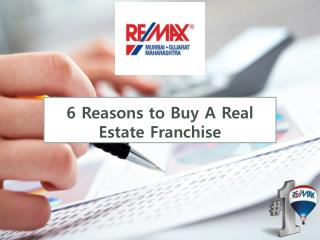 6 Reason To Buy Real Estate Franchise Business