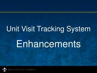 Unit Visit Tracking System