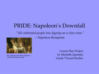 Lesson Plan Project  by Michelle Zgombic Grade 7 Social Studies