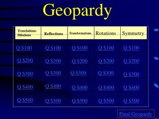 Geopardy