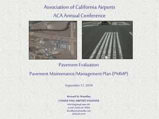 Association of California Airports ACA Annual Conference