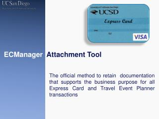 ECManager Attachment Tool