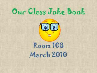 Our Class Joke Book