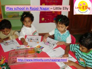 Top Play School in Rajajinagar