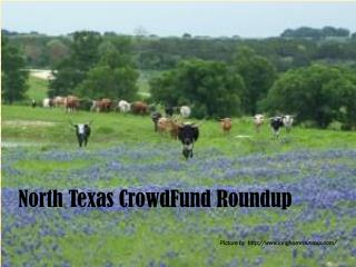 North Texas CrowdFund Roundup