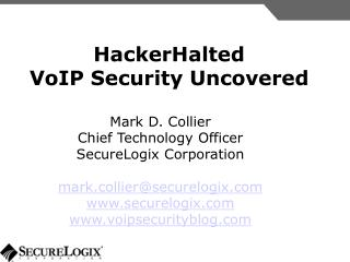 HackerHalted VoIP Security Uncovered