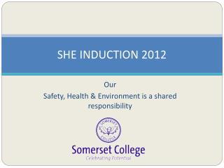 SHE INDUCTION 2012