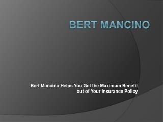 Bert Mancino