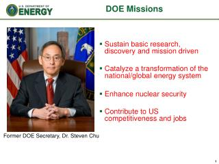 DOE Missions