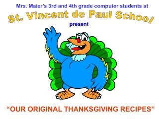 Mrs. Maier's 3rd and 4th grade computer students at