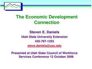 The Economic Development Connection