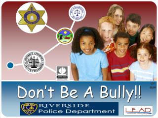 Don't Be A Bully!!