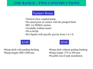 ONE RANGE ; TWO CONSTRUCTIONS
