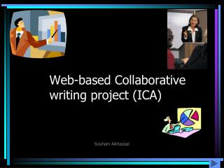 Web-based Collaborative writing project (ICA)