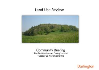 Land Use Review