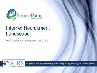 Internet Recruitment Landscape