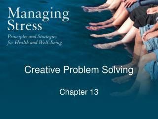 Creative Problem Solving Chapter 13