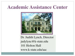 Academic Assistance Center
