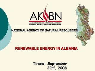 RENEWABLE ENERGY IN ALBANIA