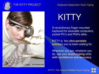 KITTY/ The Future of Mobile Touch-Typing