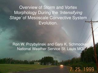 Ron W. Przybylinski and Gary K. Schmocker National Weather Service St. Louis MO