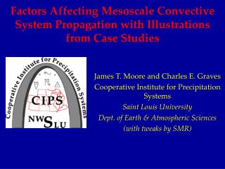 Factors Affecting Mesoscale Convective System Propagation with Illustrations from Case Studies