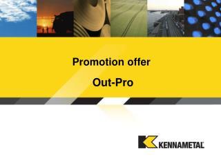Promotion offer