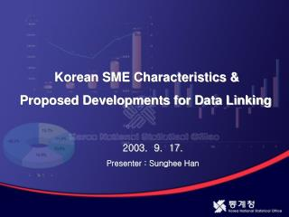 Korean SME Characteristics &  Proposed Developments for Data Linking