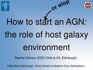 How to start an AGN: the role of host galaxy environment