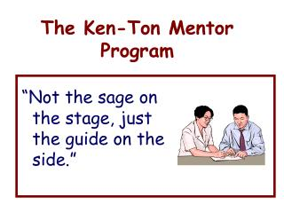 The Ken-Ton Mentor Program