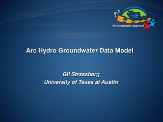Arc Hydro Groundwater Data Model