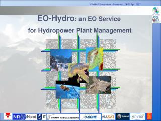 EO-Hydro : an EO Service  for Hydropower Plant Management