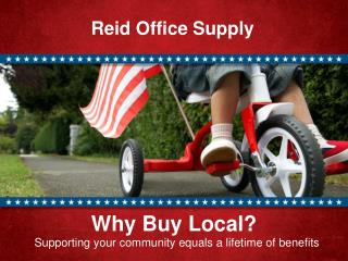 Why Buy Local? Supporting your community equals a lifetime of benefits
