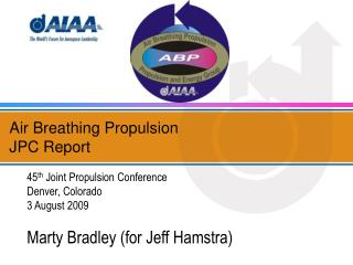 Air Breathing Propulsion  JPC Report
