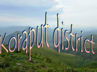 Koraput district