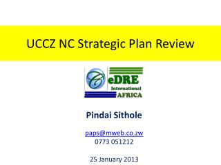 UCCZ NC Strategic Plan Review