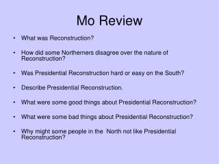 Mo Review