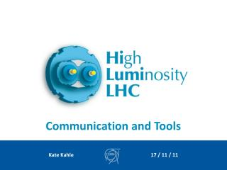 Communication and Tools