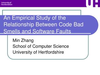 An Empirical Study of the Relationship Between Code Bad Smells and Software Faults