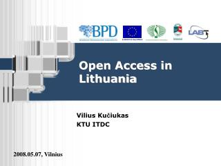 Open Access in Lithuania