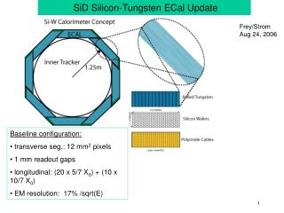 SiD Silicon-Tungsten ECal Update