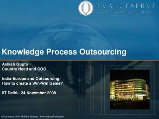 Knowledge Process Outsourcing
