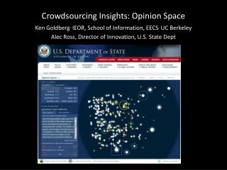 Crowdsourcing Insights: Opinion Space