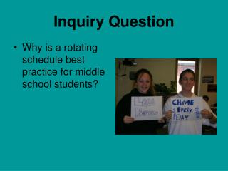 Inquiry Question