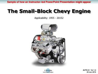 The Small-Block Chevy Engine