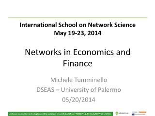Networks in Economics and Finance